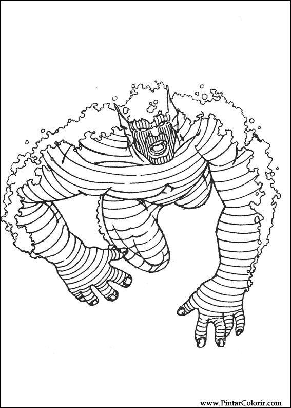 Kleurplaten The Hulk.Tekeningen Om Te Schilderen En Hulk Coloring Print Design 046