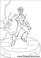 Pintar e Colorir Hulk - Desenho 003
