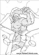 Pintar e Colorir Hulk - Desenho 008