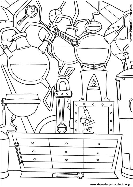 Pintar e Colorir Igor - Desenho 004