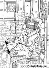 Pintar e Colorir Inspetor Bugiganga - Desenho 012
