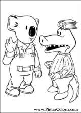 Pintar e Colorir Irmaos Koala - Desenho 022
