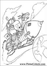 Pintar e Colorir Jimmy Neutron - Desenho 001