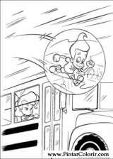 Pintar e Colorir Jimmy Neutron - Desenho 002