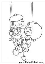 Pintar e Colorir Jojo Circus - Desenho 009