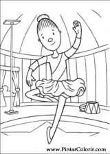 Pintar e Colorir Jojo Circus - Desenho 012