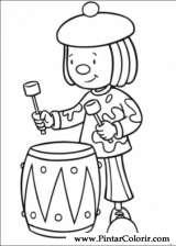 Pintar e Colorir Jojo Circus - Desenho 014