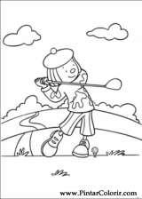 Pintar e Colorir Jojo Circus - Desenho 022