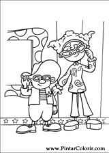 Pintar e Colorir Jojo Circus - Desenho 028