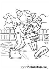 Pintar e Colorir Jojo Circus - Desenho 030