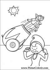 Pintar e Colorir Jojo Circus - Desenho 031