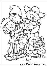 Pintar e Colorir Jojo Circus - Desenho 035