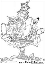 Pintar e Colorir Kids Next Door - Desenho 001