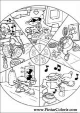 Pintar e Colorir Kids Next Door - Desenho 002