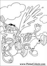 Pintar e Colorir Kids Next Door - Desenho 004
