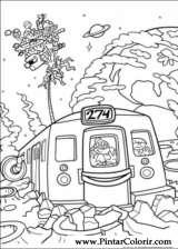 Pintar e Colorir Kids Next Door - Desenho 010