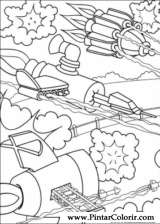 Pintar e Colorir Kids Next Door - Desenho 020