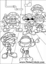 Pintar e Colorir Kids Next Door - Desenho 023