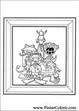 Pintar e Colorir Kids Next Door - Desenho 025