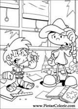 Pintar e Colorir Kids Next Door - Desenho 054
