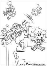 Pintar e Colorir Kids Next Door - Desenho 059