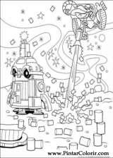 Pintar e Colorir Kids Next Door - Desenho 063