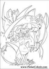Pintar e Colorir King Kong - Desenho 013