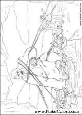 Pintar e Colorir King Kong - Desenho 014