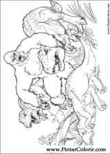 Pintar e Colorir King Kong - Desenho 015