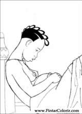Pintar e Colorir Kirikou - Desenho 001