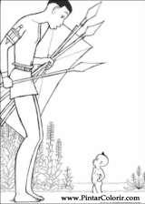 Pintar e Colorir Kirikou - Desenho 003