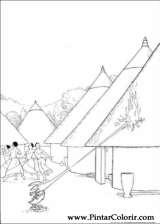 Pintar e Colorir Kirikou - Desenho 010