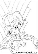 Pintar e Colorir Kirikou - Desenho 016