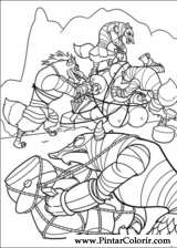 Pintar e Colorir Kung Fu Panda 2 - Desenho 003