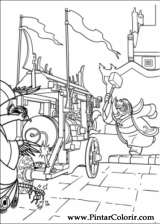 Pintar e Colorir Kung Fu Panda 2 - Desenho 011