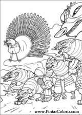 Pintar e Colorir Kung Fu Panda 2 - Desenho 024