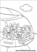 Pintar e Colorir Little Einsteins - Desenho 007