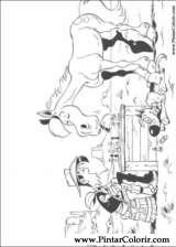 Pintar e Colorir Lucky Luke - Desenho 021