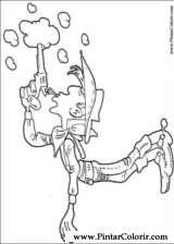 Pintar e Colorir Lucky Luke - Desenho 053