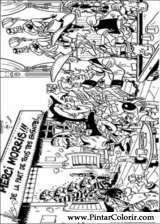 Pintar e Colorir Lucky Luke - Desenho 065