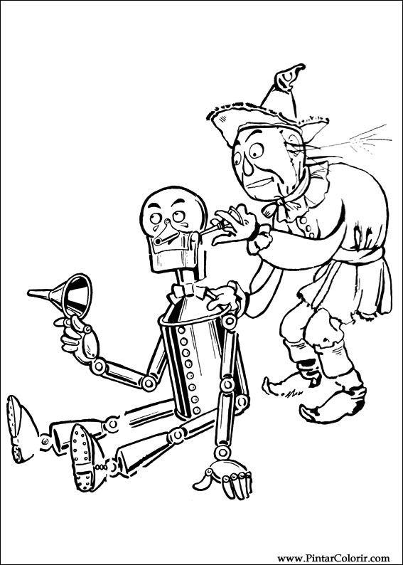Desenhos Para Pintar E Colorir Magico De Oz Imprimir Desenho 014