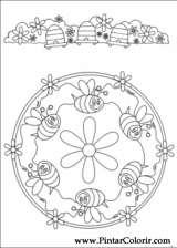 Pintar e Colorir Mandalas - Desenho 077