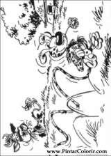 Pintar e Colorir Marsupilami - Desenho 007