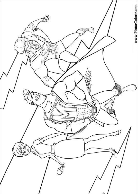 Desenhos Para Pintar E Colorir Megamind Imprimir Desenho 005