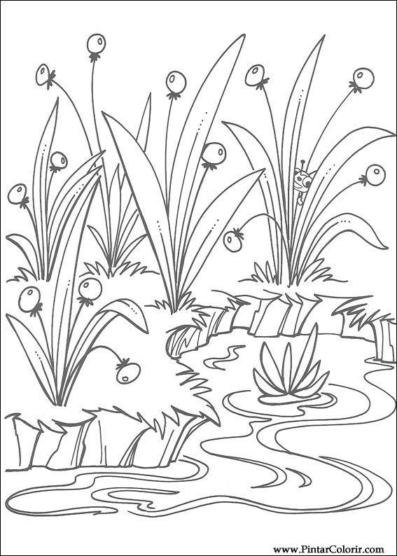 Pintar e Colorir Miss Spider - Desenho 005