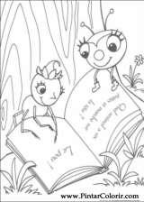 Pintar e Colorir Miss Spider - Desenho 009