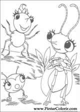 Pintar e Colorir Miss Spider - Desenho 010