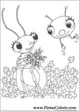 Pintar e Colorir Miss Spider - Desenho 015
