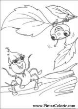Pintar e Colorir Miss Spider - Desenho 017