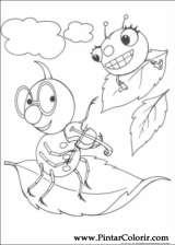 Pintar e Colorir Miss Spider - Desenho 019